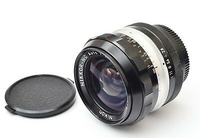 *EXCELLENT* Nikon Nikkor-NC 24mm f/2.8 AI-converted ultra wide angle lens
