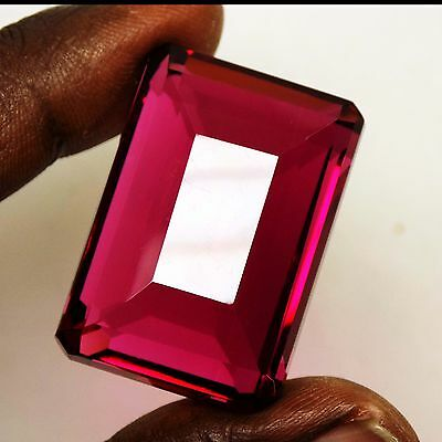 GGL Certified 107.35 Ct Charming Beautiful Imperial Pink Topaz Emerald Gemstone