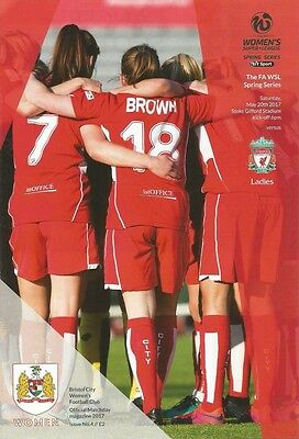 BRISTOL CITY WOMEN v LIVERPOOL LADIES 2017