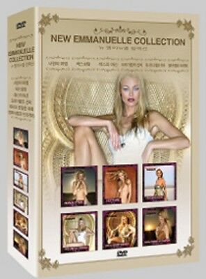 New Emmanuelle Collection 6-Disc BOX SET *Adult DVD *NEW