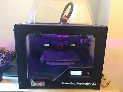 Makerbot Replicator 2x - Heated bed - PLA, Nylon, Woodfill ABS 3D printer