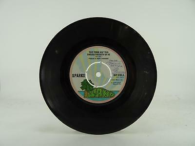 "SPARKS, THIS TOWN AIN'T BIG ENOUGH FOR BOTH OF US 20/2, -/G, 2 Track, 7"" Single,"