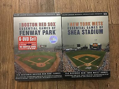 Major League Baseball - Red sox - NY mets Essential games DVDS