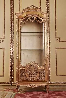 Elegante French Cabinet in the Louis Seize Baroque Style