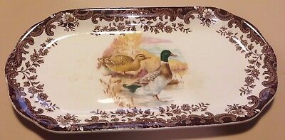 Royal Worcester Palissy game series sandwich tray