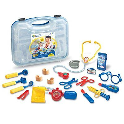 Learning Resources Pretend & Play Doctor Set 19 Pieces Blue