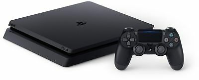 Sony PS4 Slim Console 1TB Black - PlayStation 4 Jet Black New D-Chassis