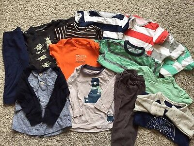 Boys Clothing Bundle 12-18 Months Zara, Gap, Carter's, Cotton On, Old Navy