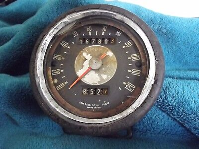Smiths  Speedometer Ssm5001/03A For Spares Or Repair, May Fit Bsa B44 A65
