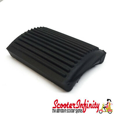 Brake Pedal Rubber Black Lambretta (GP, LI, SX, TV)