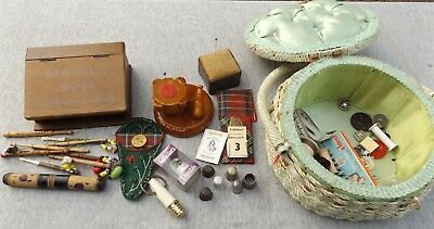 Collection of Vintage/Antique Sewing items Deceased estate find!