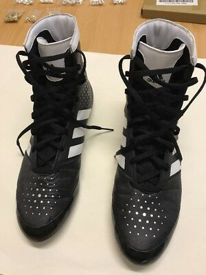 Adidas boxing KO 16.2 Boxing boots - black white UK 10