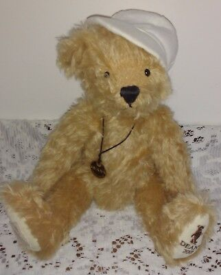 Deans Sunny  Mohair Teddy Bear - Limited Edition No 46 Of 500 - New With Tags