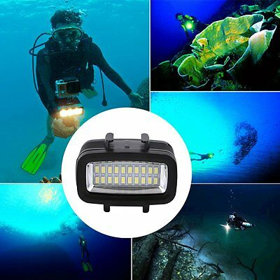 30M Waterproof Underwater Video Light Camera Diving Lamp Suitable For GOPRO SY