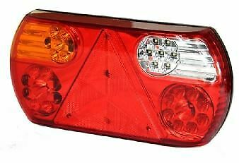 Left Hand 10-30v LED STI, Fog,Reverse and reflex Rear Lamp