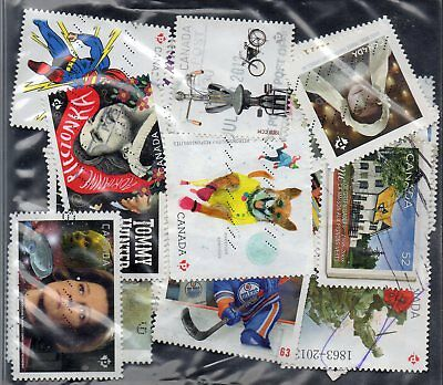 50 used stamps from canada 848