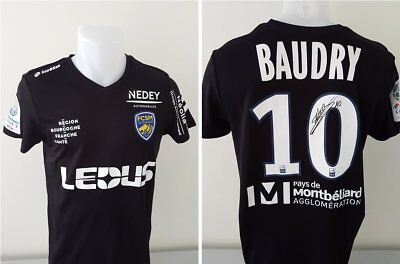 Maillot FCSM Hommage BAUDRY signé n°10 SAO