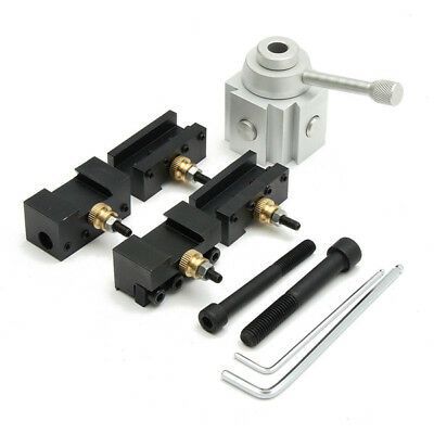 Mini Lathe Quick Change Multifid Tool Post and Holder Kit For Lathe Processing