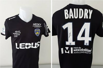 Maillot FCSM Hommage BAUDRY signé n°14 TOUZGHAR