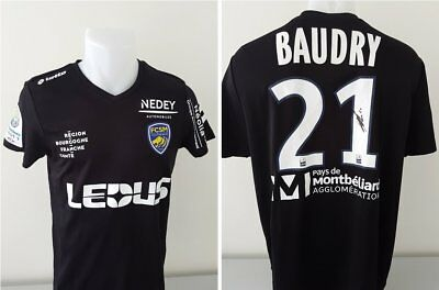 Maillot FCSM Hommage BAUDRY signé n°21 MEÏTE