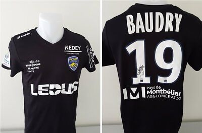 Maillot FCSM Hommage BAUDRY signé n°19 DAHAM