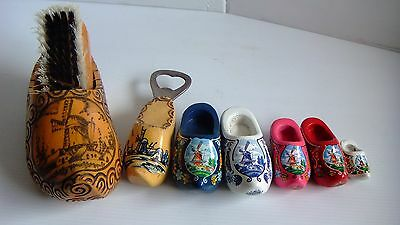Dutch clog and brush set ,dutch clog bottle opener and collection of clogs