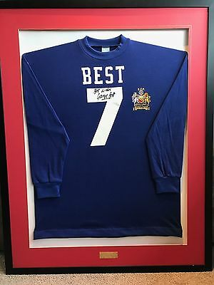 George Best Signed Shirt