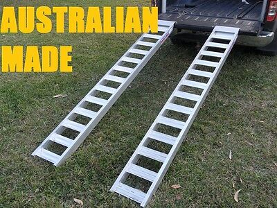 1 Tonne Capacity Loading Ramps 2.4 metres x 280mm wide