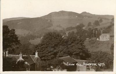 Real Photographic Postcard Of Crook Hill, Ashopton, Derbyshire By Sneath