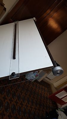 Drawing Board adjustable AO folding with 'Mayline' type parallel motion rule