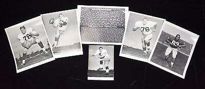 1960s Notre Dame Basketball & Football Vintage Publicity Photo Lot (13)