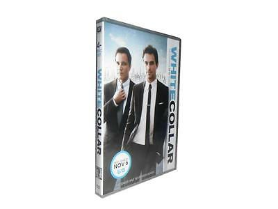White Collar: The Complete Fifth Season 5 (DVD, 2014, 4-Disc Set) NEW