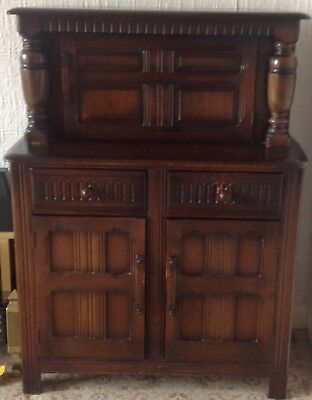 VIntage ERCOL Old Colonial style dresser in good condition.