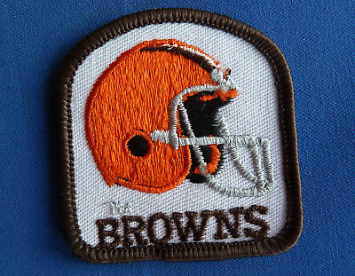 Rare Vintage Nfl Cleveland Browns Embroidered Patch