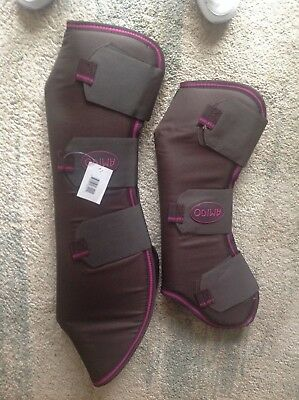 New Amigo Horse Travel Boots - Full