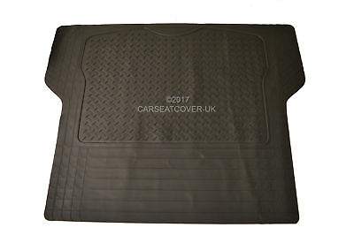 Renault Zoe Hatchback (12 on) RUBBER CAR BOOT MAT LINER COVER PROTECTOR