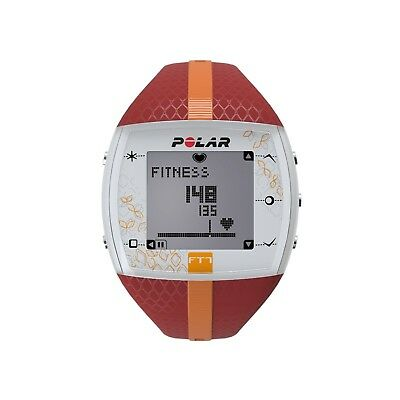 (One Size, Orange) - Polar FT7 Heart Rate Monitor and Sports Watch