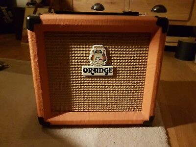 orange 10w combo guitar amplifier