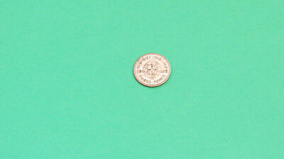 Great Britain 1942 Three Pence Small Silver Coin Very Nice Condition
