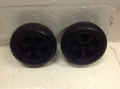 Roma Vegas Wheels and Tyres Back Pair