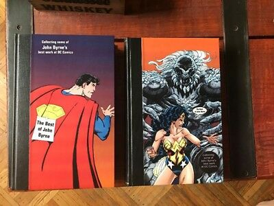 DC COMICS / Best of John Byrne Hardbound Books / Wonder Woman