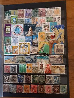 65 timbres Egypte (lot 9)