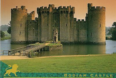 Modern Postcard showing Bodiam Castle