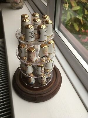 Coronation Street Thimbles Collection