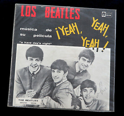 The Beatles - Yeah Yeah Yeah - *VENEZUELA 1964 1st Press Odeon Mono LP