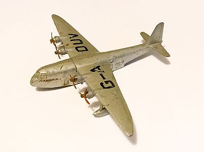 Dinky Toys Silver Empire Flying Boat Cambria (G-A DUV) Aircraft # 60R !!