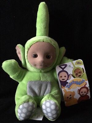 NWT Teletubbies DIPSY Green 7 inch Stuffed Plush Character