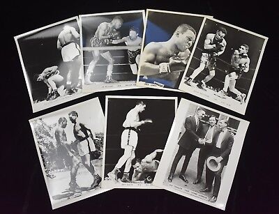 1940s-50s Vintage Boxing Photos Joe Louis Clay-Liston (22)