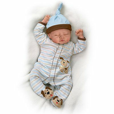 Ashton Drake - SWEET DREAMS DANNY baby boy doll by Linda Murray - LAST ONE