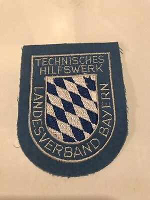 German Police / Germany Polizei - Police Patch - Hard To Find !